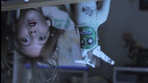Still from the short film Under the Bed