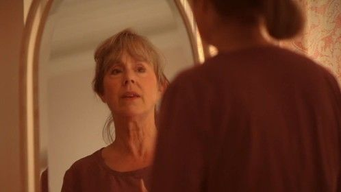 Still from the short film The Clean-Up (portraying Elizabeth, much older girlfriend of the protagonist)