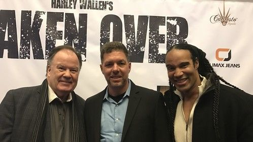 """From the premiere of Harley Wallen's """"Taken Over"""""""