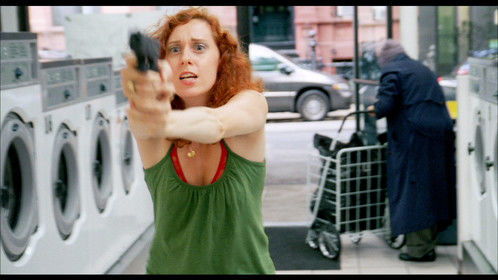 I'll shoot! Prudence Heyert as Janet