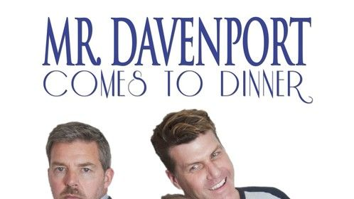 "Movie Poster for ""Mr. Davenport Comes to Dinner"""
