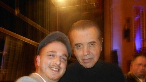 2014-2015.  With Chazz Palminteri, A Bronx Tale - One Man Show (Easton State Theatre, PA)   I posted this solely because he was my initial inspiration in 1993 to become a writer/actor. I used to have 3 hour conversations with my best friend Danielle Rizzo at the time watching A Bronx Tale over & over as we'd repeat it line for line!  He was checking out my girl the entire time.