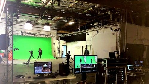 Motion capture and Virtual production system for VR