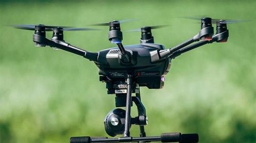 4K Typhoon H Sectocopter gear down