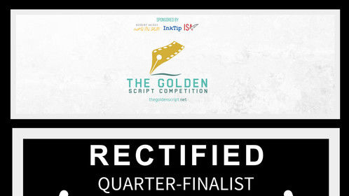 "Thank You to The Golden Script Competition 2018 for the QUARTER-FINALIST Selection of our Short #SciFi #Screenplay ""RECTIFIED"" - written by #JeanMarcello & Dimi Nakov. - https://www.thegoldenscript.net/short-screenplays-2018  We have been working for a while on several screenplays, that are now circulating selected script competitions and fests and we are also hard at work in the development of several other projects, so stay tuned.  Also, Huge Thank You to Marla J. Hayes for the support and advice as a Script Consultant for #RECTIFIED.  The Golden Script Competition is a yearly competition founded in Glasgow, UK, of short and feature screenplays from all around the world.  TGSC Website - https://www.thegoldenscript.net/  TGSC on Facebook - https://www.facebook.com/thegoldenscript/  TGSC on Twitter - https://twitter.com/thegoldenscr"