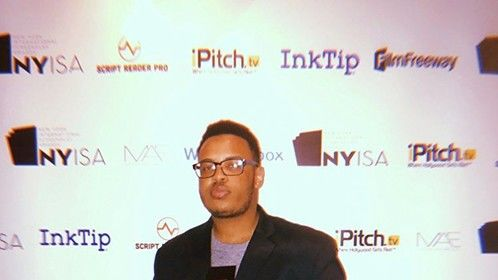 Ryan Henry Knight at the New York International Screenplay Awards 2018 in Manhattan, New York after taking first place for Best Short Screenplay.