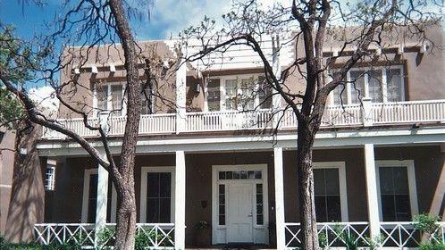 O'Keefe Exhibit Mansion - Santa Fe, New Mexico.