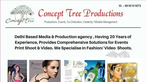 Looking for fresh collaboration with Actors , director, producer, models , agency, production houses and new talent     Follow us for latest update     https://www.facebook.com/Concepttreeproductions/?notif_id=1526999726296624&notif_t=page_fan