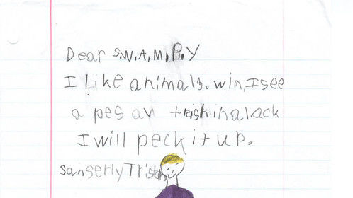 Letter to Swampy