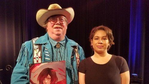 with comic artist Anadia-Chan