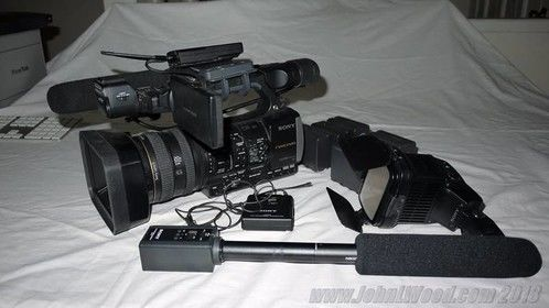 Sony HXR NC3 with wireless audio + additional portable capacity for video projects or special events. Camera has DV, 60fps, and 24P. Based in Sacramento.