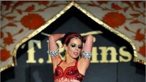 Belly dance performance for Hotbed Gala 2014  San Fransisco
