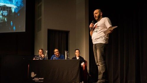 Pitching at the Melbourne Webfest 2018