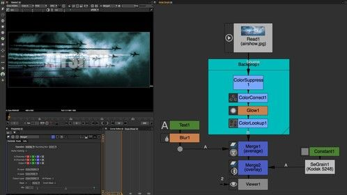 Natron SeGrain for Film VFX Compositing