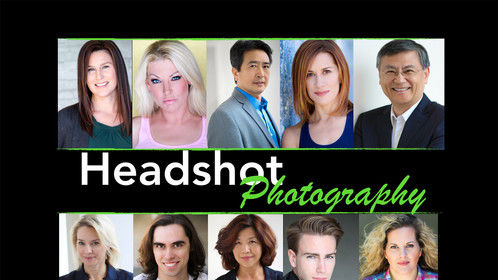 Some of my headshot photography for actors & corporate execs.