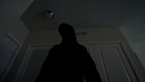 The intruder enters, The Price Of Shame