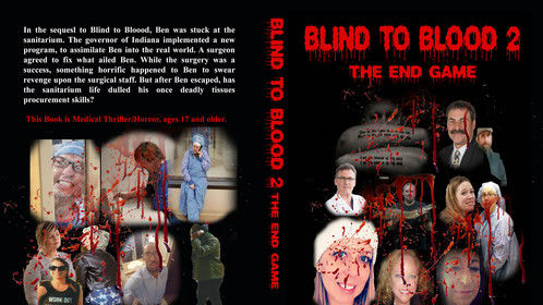 Book two of my medical horror books!