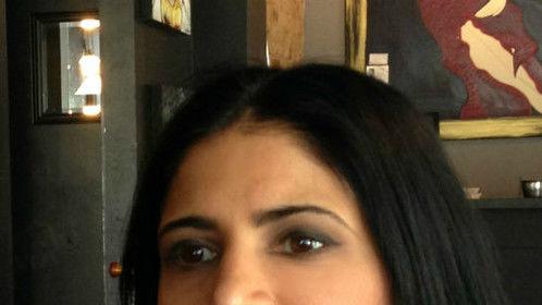 Makeup by Roseangela Toronto Canada, for actor Julie Brar.