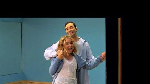 "A photo still from my movie ""Dance Baby Dance"" - with Beverley Mitchell."