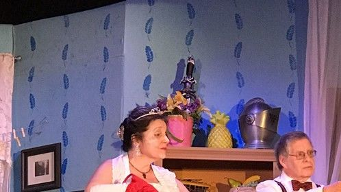 "As ""The Grand Duchess Olga Katrina"" in George Kaufman and Moss Hart's great classic ""You Can't Take It With You"""