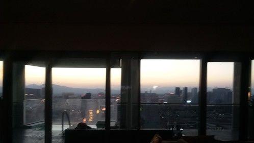 Dawn in Vegas. Time to start shooting.