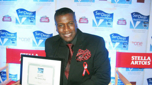 Umari Jason wins Best Comedy.