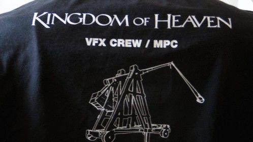VFX crew shirt from Ridley Scott's Kingdom of Heaven