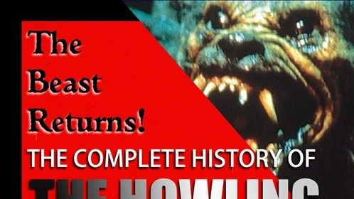 """GoreZone / GZ Magazine's Bryn Curt James Hammonds new book """"The Complete History of The Howling"""""""
