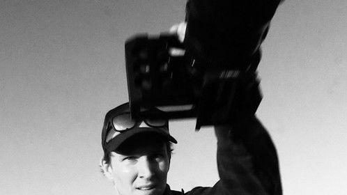 Directing Shutter Eyes at Amboy Crater, CA
