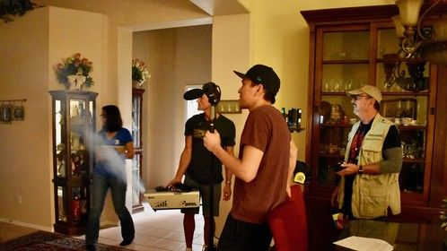Directing on set effects