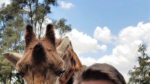 My new friend in Kenya