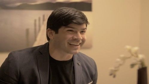 "Carlos Garcia in ""Dating While Arab"""