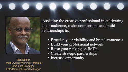 Marketing brands and building audiences in the business of the arts and entertainment.