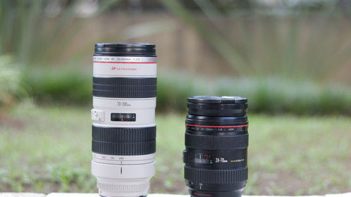 These are my 2 favorite Canon prime lenses for most of the situations I usually shoot (photo and video). From music videos, corporate projects and short docs to webvideos for YouTube, the 24-70mm f/2.8 and the 70-200mm f/2.8 are one of the best combination for videomakers and photographers.
