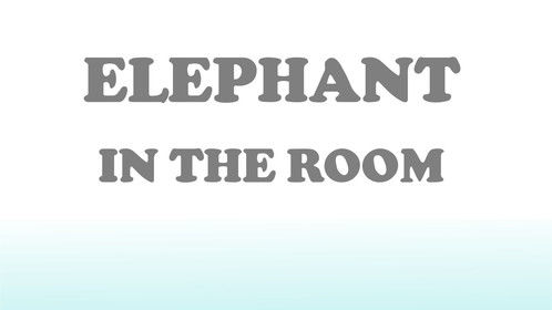 Elephant In The Room (Short Script 11 Pages) Comedy