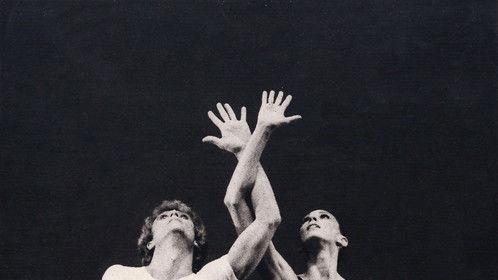 "Stephanie Herman & Floris Alexander in George Balanchine's Ballet ""AGON"""