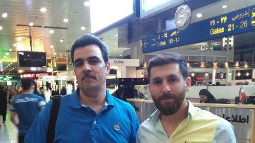 Me and Reza Parastesh (Messi Fake)