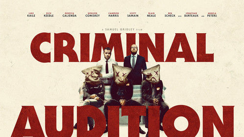 Criminal Audition Quad Poster - Feature Film