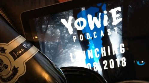 Pre-launch drinks at the Yowie Podcast official Industry Launch Aug 21 2019.
