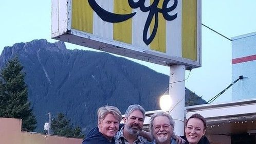With Gary Hershberger, Russ Tamblyn & Adele Rene at the 2019 Twin Peaks Festival.