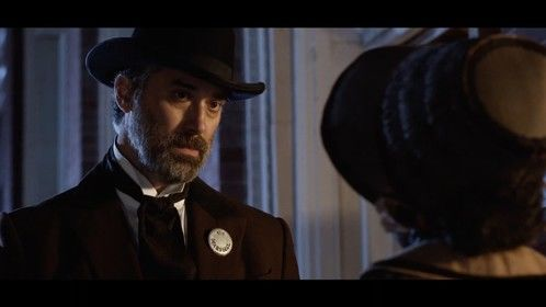Brian K. Landis as the Marshal in Harriet