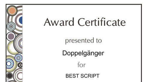 Best Script at the 2019 Web Series Festival Global