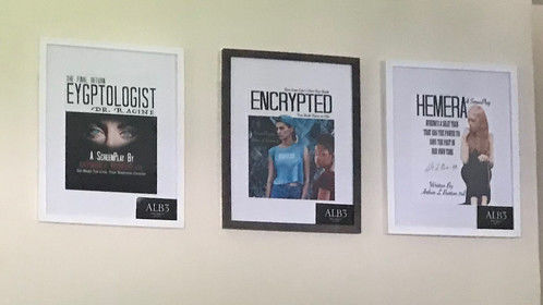 Wall of Scripts only 3 showing but's many more.