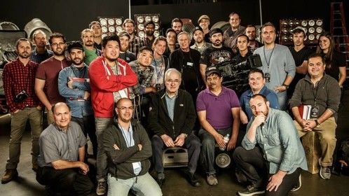The entire class with Dante Spinotti ASC. (Cinematographer of Heat, L.A. Confidential and Last of the Mohicans)