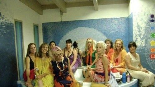 Women trained in Tantric Ceremony, including Holy Water Immersion, Magentic Touch, & Whole Body Healing.