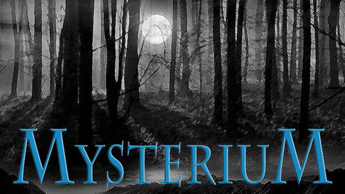 Mysterium Publishing, Logo, Designed by Kimberly Brouillette