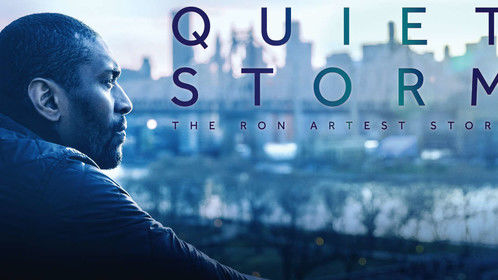 "Showtime poster: ""Quiet Storm: The Ron Artest Story"""