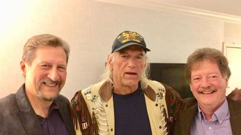 Post-interview with Jesse Ventura, and Craig Muckler
