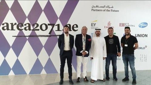 Our partnership with Area 2071 the Dubai Government