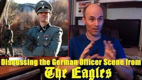"""nterview - Discussing my role - German Officer in """"The Eagles"""". https://lnkd.in/eseZMvS #actorslife  Interviewed by @Pamela Hill"""